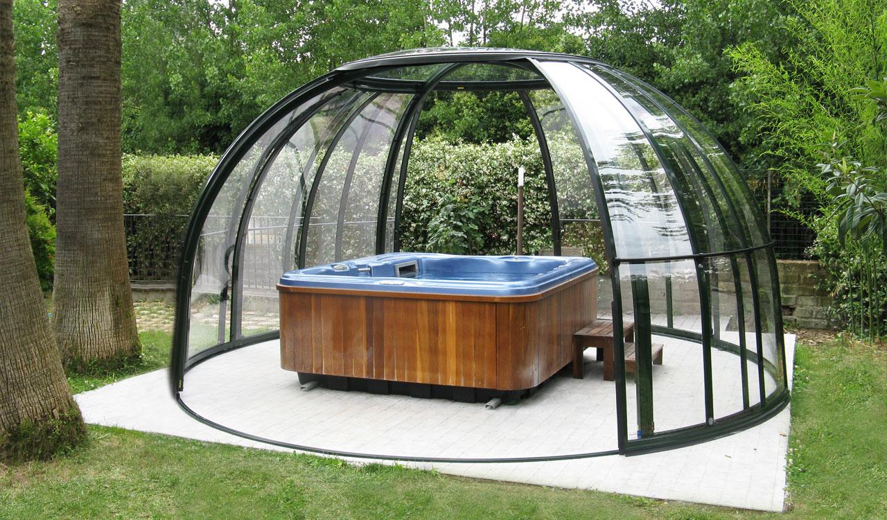 Abri de spa /jacuzzi type dome